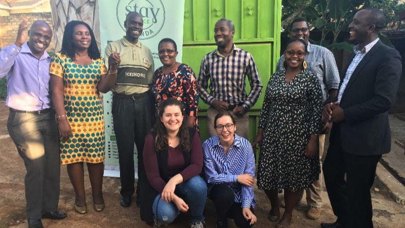 Stay Alliance Uganda mit Praktikantinnen