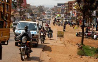 Straße in Afrika