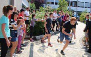 Spendenlauf des Privatgymnasiums Weinheim