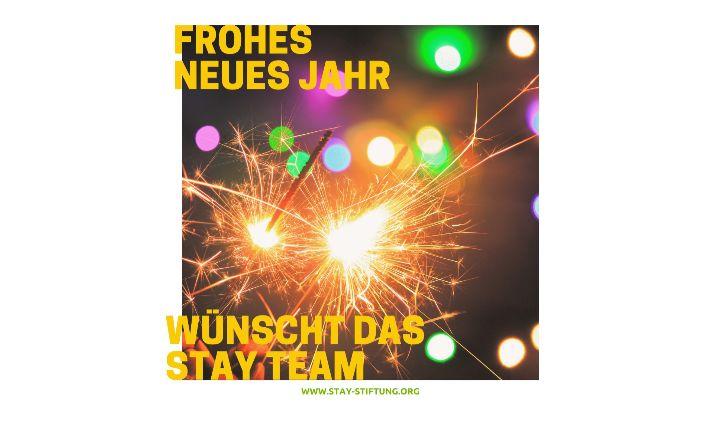 Feuerwerk - Frohes Neues Jahr