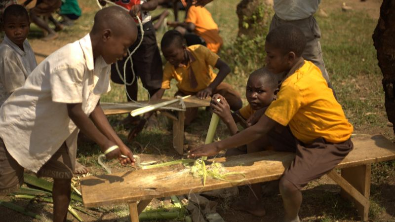 Kinder bei der Arbeit