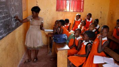 Schule in Uganda