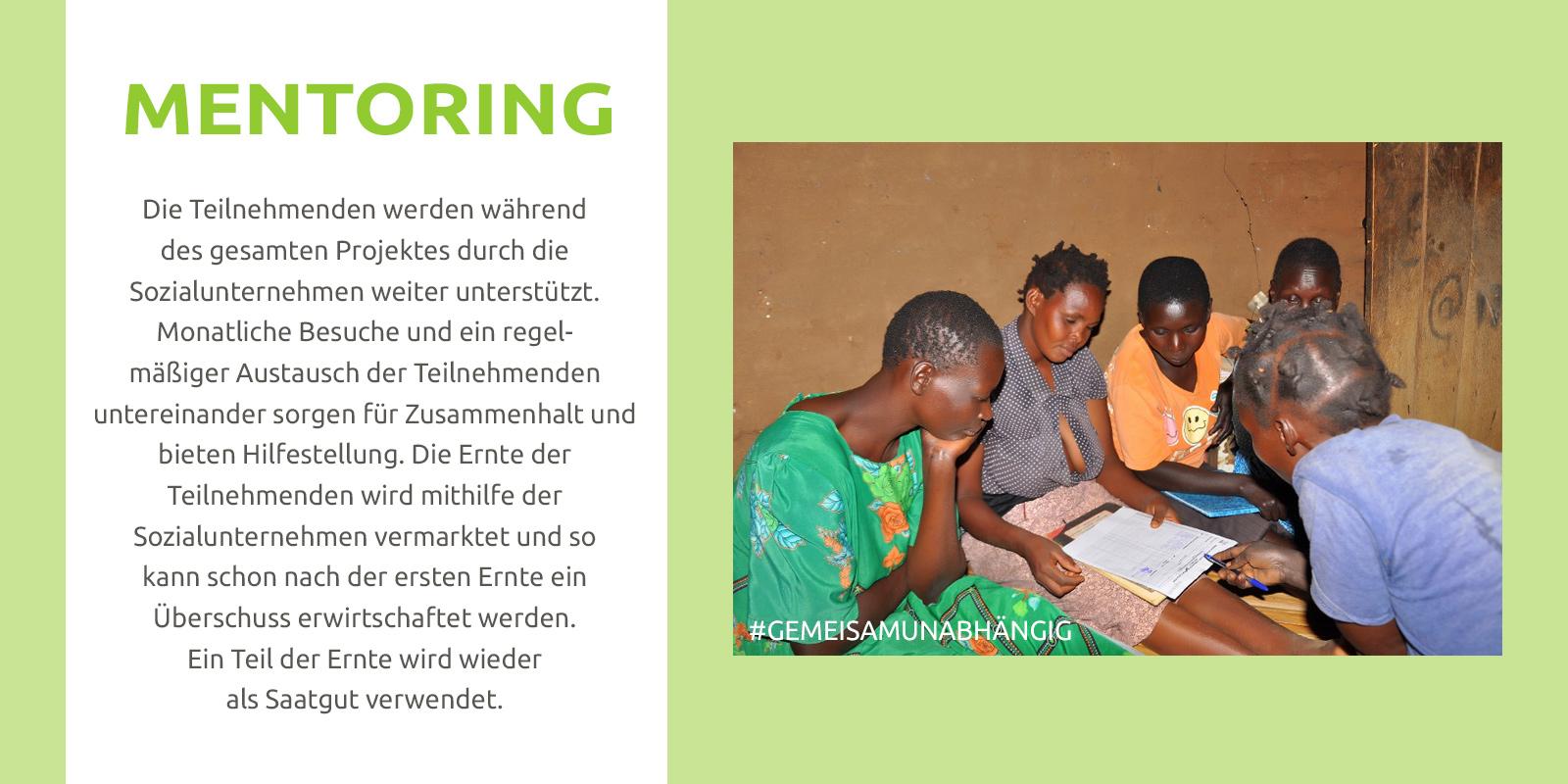Ugandas Frauen lernen zusammen