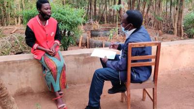 Baselinestudie Interview Vorbereitung Ruanda