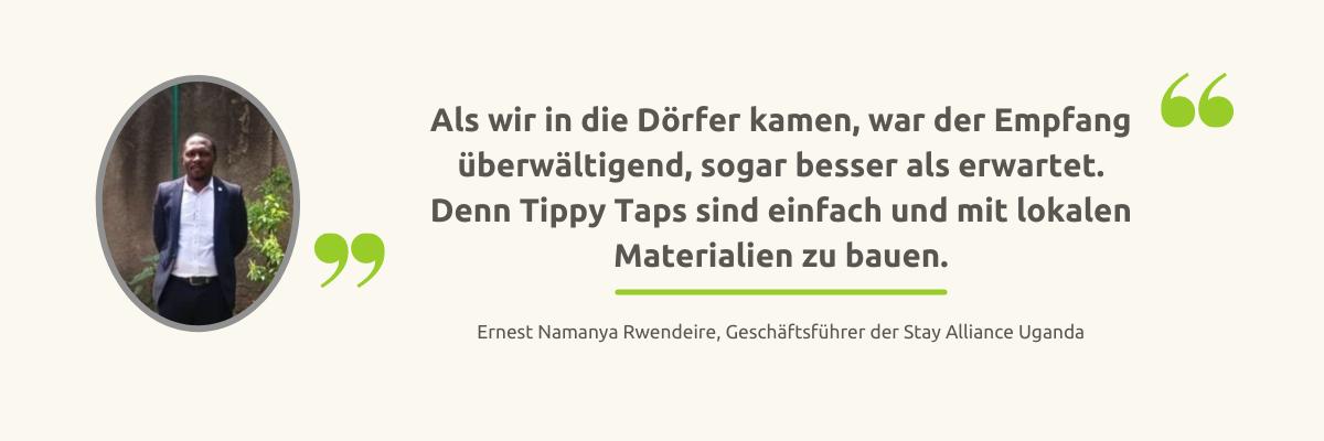 Ernest Zitat Tippy Taps