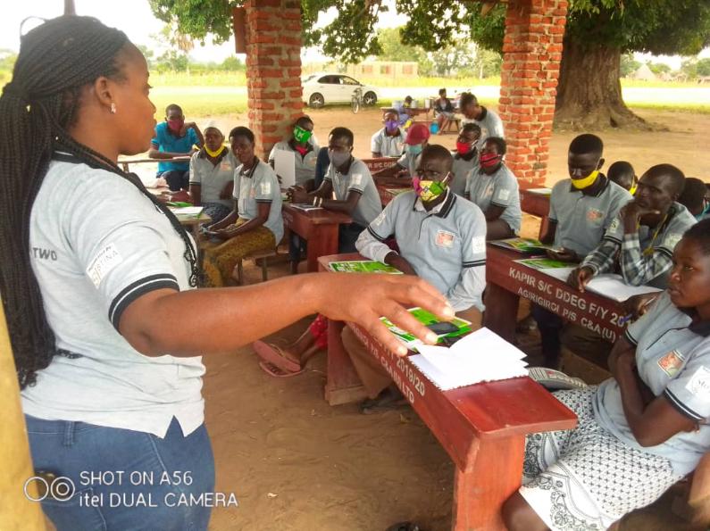 Stay Seed_Getreide-Schulung für ugandische Kleinbauern